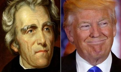 Tuong dong bat ngo giua Donald Trump va TT Andrew Jackson - Anh 1