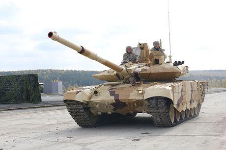 An Do tinh mua so luong xe tang T-90MS ky luc - Anh 1