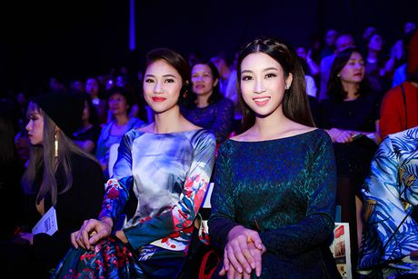 HH Do My Linh dien ao dai 'doc' di xem thoi trang - Anh 12