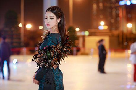 HH Do My Linh dien ao dai 'doc' di xem thoi trang - Anh 3