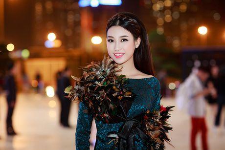 HH Do My Linh dien ao dai 'doc' di xem thoi trang - Anh 4