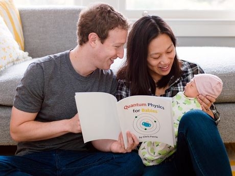 Hinh anh sieu dang yeu cua con gai ong chu Facebook - Anh 7