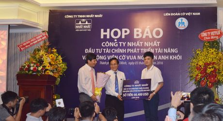 Cong ty Nhat Nhat dau tu 1,5 ty dong cho ky thu co vua Nguyen Anh Khoi - Anh 1