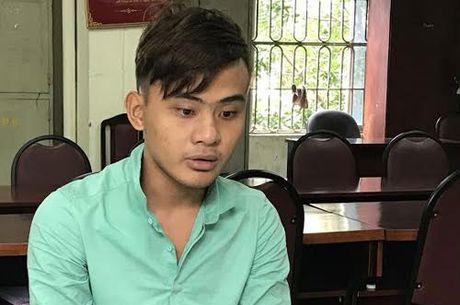 Vu cuop tai san o cua hang tap hoa: Cong an quan Hoang Mai thong tin chinh thuc - Anh 2