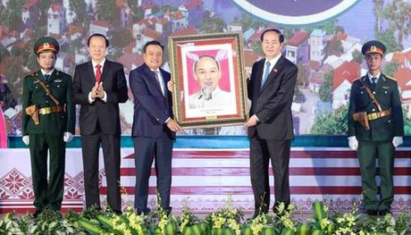 Chu tich nuoc du le ky niem 185 nam ngay thanh lap tinh Lang Son - Anh 1
