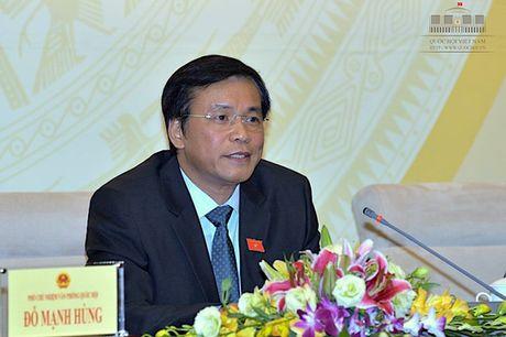 Quoc hoi phoi hop voi Chinh phu xu ly ky luat ong Vu Huy Hoang - Anh 1