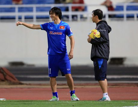 So lo AFF Cup, Tuan Anh chich huyet tuong chua chan thuong - Anh 1