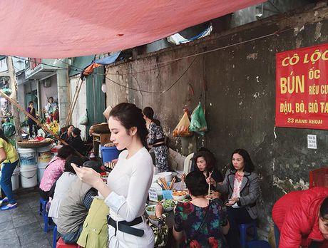 Sao Viet 4/11: Ngo Thanh Van khoe dang tuoi tre, Phuong Trinh an bun via he - Anh 10