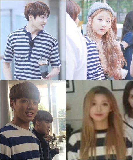 Netizen tung 'bang chung' Jung Kook BTS dang hen ho idol 'dep la' Kpop - Anh 5