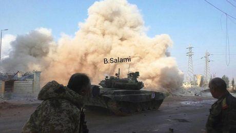 Phien quan phong ten lua tan cong khu dan cu tay Aleppo - Anh 2