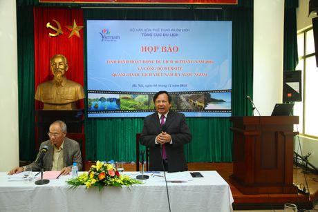 Nam 2016, Viet Nam du kien don 9,7 trieu luot khach quoc te - Anh 2