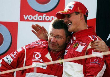 Tin the thao HOT 4/11: Schumacher co dau hieu hoi tinh - Anh 1
