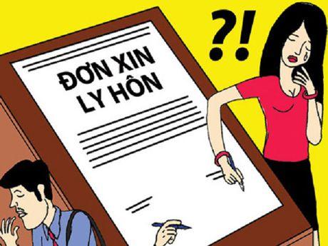 Giai quyet ly hon khi chong khong len Toa an - Anh 1
