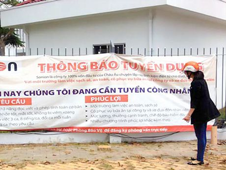 Binh Duong can khoang 20.000 lao dong dip cuoi nam - Anh 1
