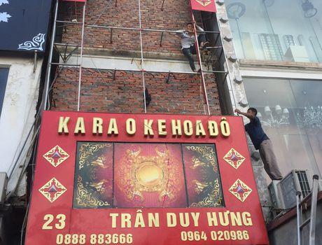 Dinh chi hang loat quan karaoke khong du dieu kien PCCC - Anh 1