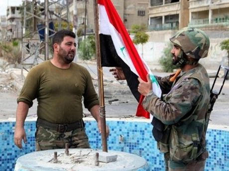Quan doi Syria dat duoc nhung buoc tien moi o Damascus - Anh 1