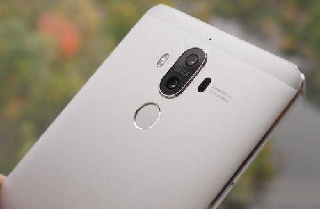 Huawei Mate 9 chinh thuc: RAM 4GB, camera kep Leica 20/12MP - Anh 1