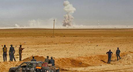 Tuong Nga cao buoc may bay cua Lien minh danh bom vao cac khu dan cu o Mosul - Iraq - Anh 1