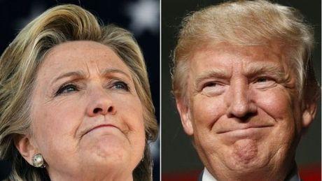 Ba Clinton va ong Trump vua tan cong vua so ke sat sat - Anh 1