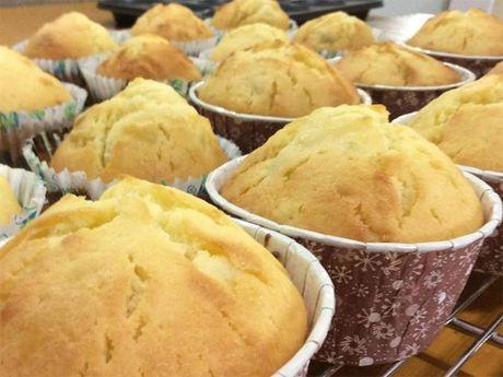 Banh muffin khoai lang de gay 'nghien' - Anh 6