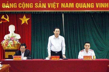 Pho Tong Thanh tra Nguyen Duc Hanh tiep dan dinh ky - Anh 1