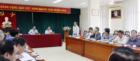 Pho Tong Thanh tra Nguyen Duc Hanh tiep dan dinh ky - Anh 2
