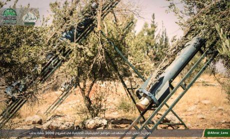 Luc luong Hoi giao cuc doan phao kich man ro huy diet khu vuc Tay Aleppo - Anh 2