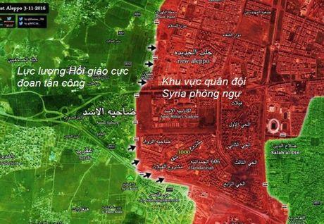 Phien quan Hoi giao lai don dap tan cong vao huong tay Aleppo - Anh 2