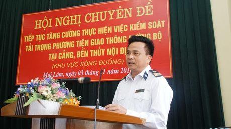 """""""Dau cham het"""" cho xe qua tai tai cang, ben khu vuc song Duong - Anh 2"""