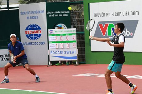 Ly Hoang Nam tien sat ngoi vo dich Vietnam Men's Futures - Becamex IDC - Anh 1