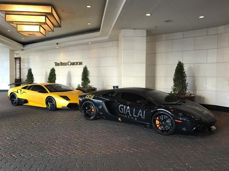 Gia Lai Team khoe dan sieu xe Lamborghini khung tren dat My - Anh 6
