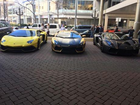 Gia Lai Team khoe dan sieu xe Lamborghini khung tren dat My - Anh 9