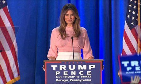 Vo Donald Trump cong bo ke hoach khi tro thanh de nhat phu nhan My - Anh 1