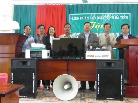 LDLD tinh Ha Tinh tang co so vat chat cho nha van hoa thon - Anh 1