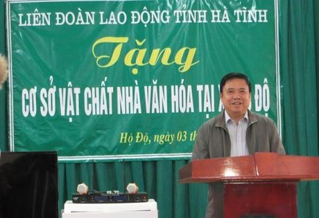 LDLD tinh Ha Tinh tang co so vat chat cho nha van hoa thon - Anh 2