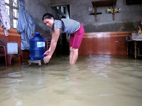 Nguoi dan lan ngup trong bien nuoc o tam lu Quang Binh - Anh 7
