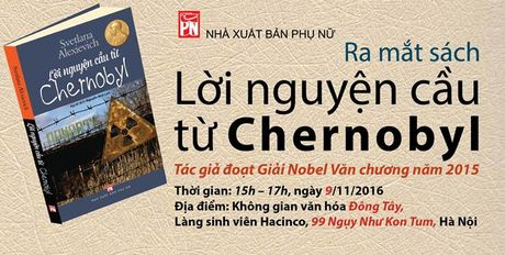 Tac pham phi hu cau ve vu no hat nhan Chernobyl ra mat doc gia Viet Nam - Anh 1