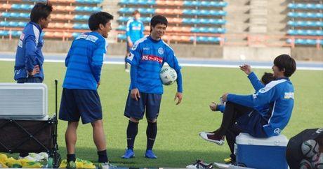 Cong Phuong, Tuan Anh tai ngo V-League: Noi buon tren dat Nhat - Anh 2