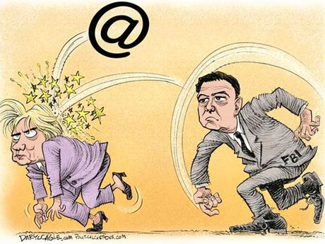 James Comey 'tiep dan' cho Donald Trump - Anh 1