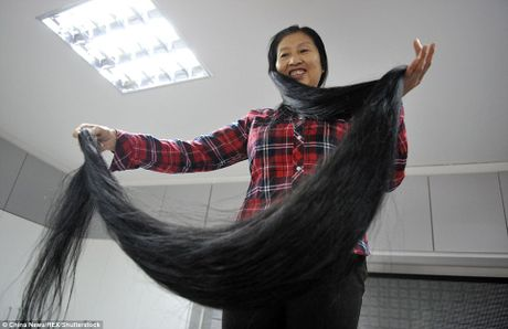 So huu mai toc dai gan 4 m sau 18 nam khong cat - Anh 4