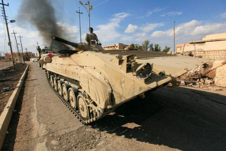 Thu linh IS ra lenh phien quan khong duoc tron khoi Mosul - Anh 1