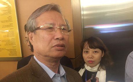 Chu nhiem Uy ban Kiem Trung uong noi ve viec ky luat ong Vu Huy Hoang - Anh 1