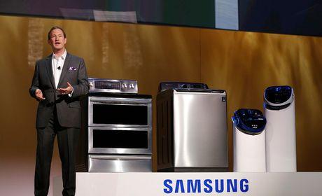 Samsung thu hoi 2,8 trieu may giat vi lo nguoi dung bi thuong - Anh 1