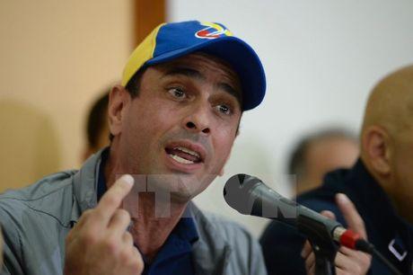 Phe doi lap Venezuela tuyen bo tiep tuc doi thoai voi chinh phu - Anh 1