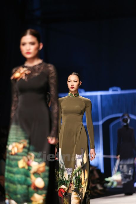Den Fashion Week 2016 ngam ao dai cua nha thiet ke Dinh Van Tho - Anh 27