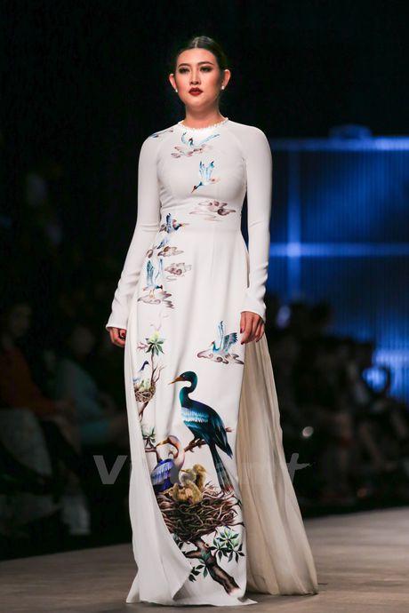 Den Fashion Week 2016 ngam ao dai cua nha thiet ke Dinh Van Tho - Anh 33