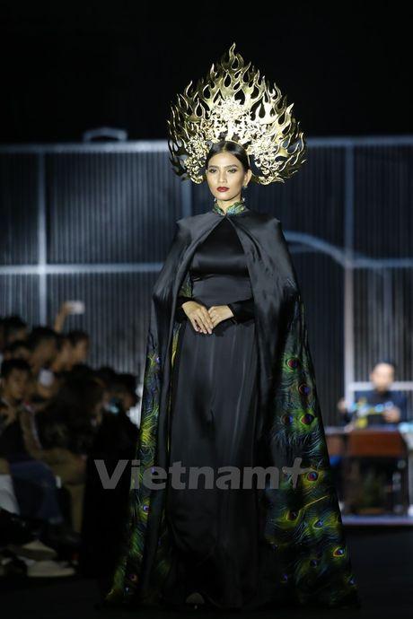 Den Fashion Week 2016 ngam ao dai cua nha thiet ke Dinh Van Tho - Anh 4