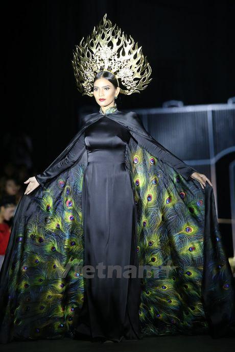 Den Fashion Week 2016 ngam ao dai cua nha thiet ke Dinh Van Tho - Anh 5