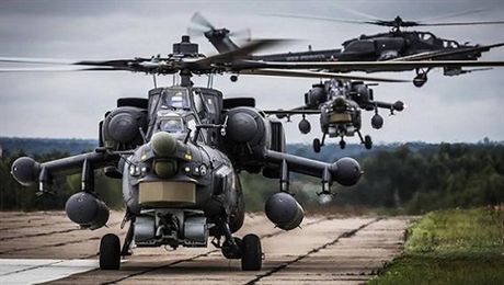 Mi-35M bi ban, tro ly dan bieu Nga thiet mang o Syria? - Anh 1