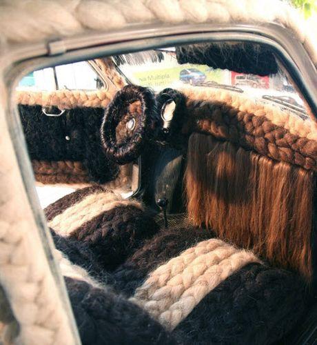 Dung 100kg toc de trang diem cho o to Fiat 500 co - Anh 3